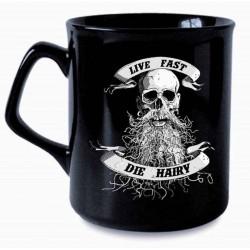 Live Fast Die Hairy Mug