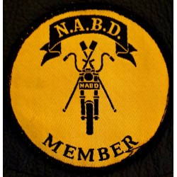 NABD Member Patch